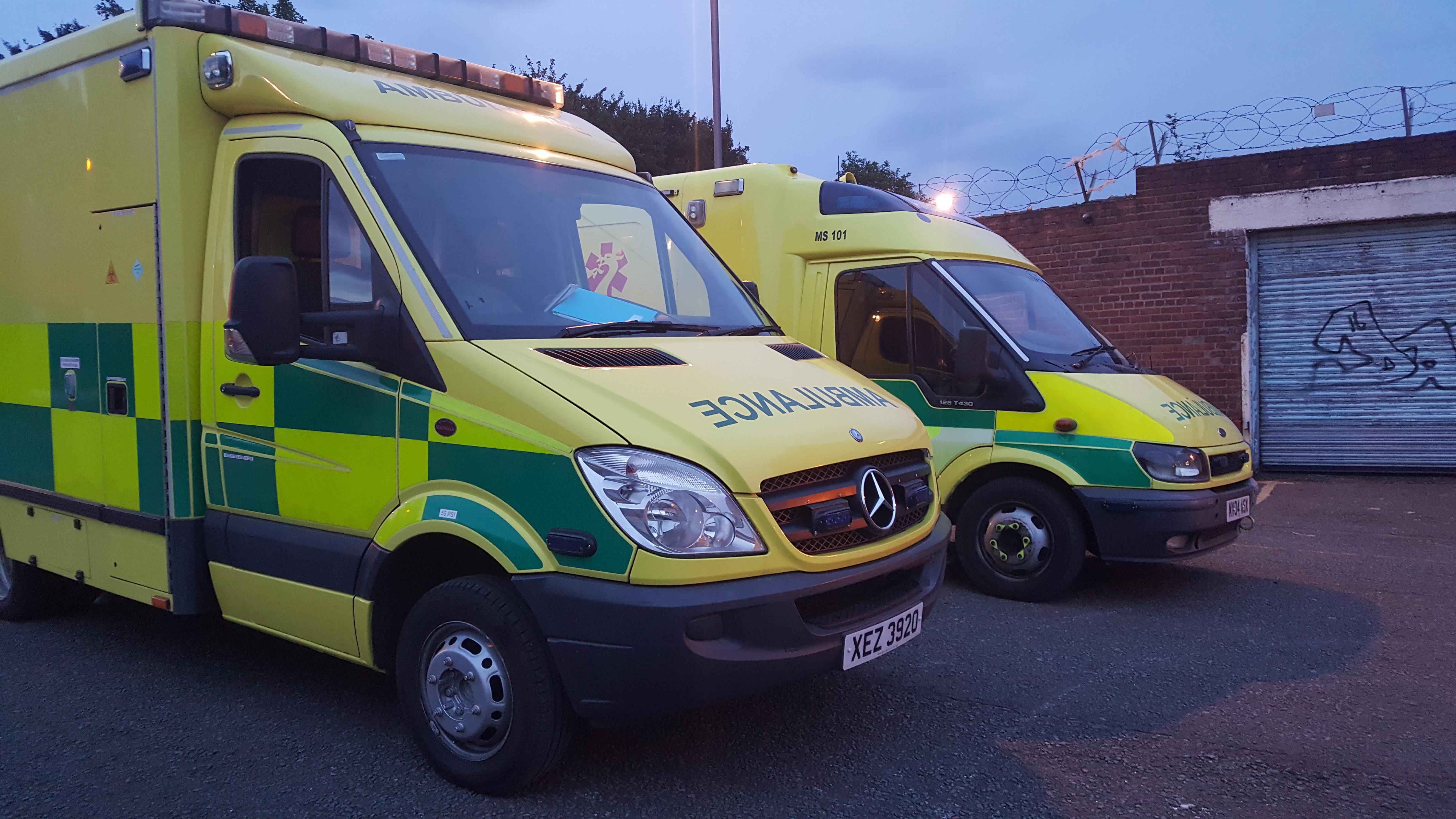 main treatment ambulance